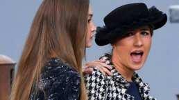 Este fue el momento en el que Gigi Hadid sacó a una mujer que se coló a la pasarela de Chanel