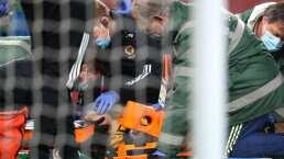 Jiménez, hospitalizado tras choque con David Luiz; se encuentra estable