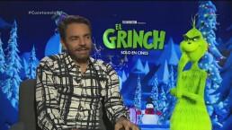 Eugenio Derbez revela su secreto para ser El Grinch