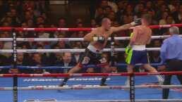 Round 8: Canelo se toma un respiro y Kovalev gana el round