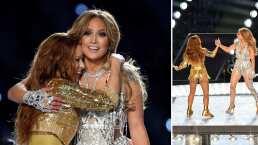 Este video muestra el abrazo entre Shakira y Jennifer Lopez que no se vio en televisión