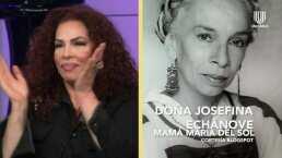 María del Sol revela que debido a la pandemia estuvo separada de su mamá, la actriz Josefina Echánove