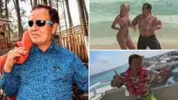 """""""¡Vamos a gozar!"""": Sammy le cantó a las playas de 'Cancún, Quintana Roo'"""