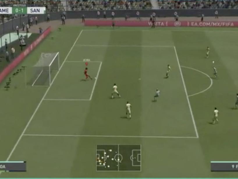 eLiga MX, Santos vs América, 7.png