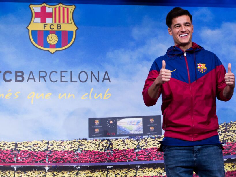 New Barcelona Signing Philippe Coutinho Unveiled
