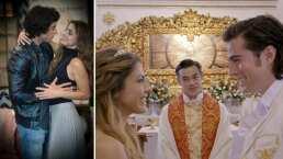 En otra realidad: Michelle Renaud y Danilo Carrera se casaron y hasta tuvieron un hijo