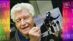 Lasrápidasde Cuéntamelo ya!(Lunes 30 de noviembre): Falleció actor que interpretó a 'Darth Vader'