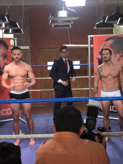 Alfredo Gatica y José Ron dan vida a El Turco y Ringo, respectivamente, grandes rivales en el ring.