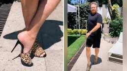 Alexis Ayala presume cómo camina, baila y hasta brinca con tacones