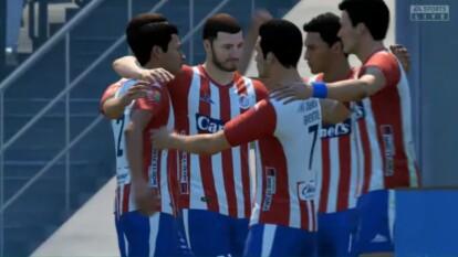 Antonio Portales y Marco Canales igualaron a tres tantos en el torneo de futbol virtual.