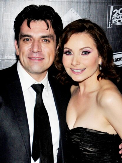 Jorge Salinas y Elizabeth Álvarez se enamoraron durante las grabaciones de 'Fuego en la sangre' en 2008