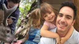 Kailani demuestra llevarse bien con Paulina Burrola; alimentan animalitos juntas