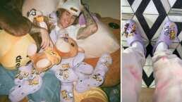 Así lucen los nuevos Crocs de Justin Bieber