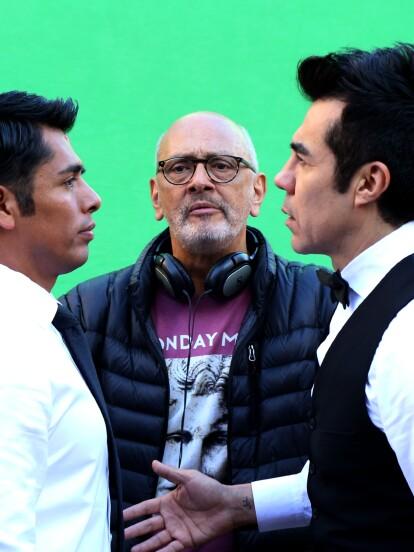 """Para grabar la escena en la que 'Ricardo' y 'Toño' se encuentran por primera vez en """"Como tú no hay 2"""", se contó con un doble para apoyar a Adrián en sus reacciones de personaje."""