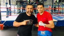 Johnny González pelea este fin de semana