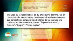 """CONFESIONES DE HOY:""""Mi hijo es víctima de Bullying"""""""