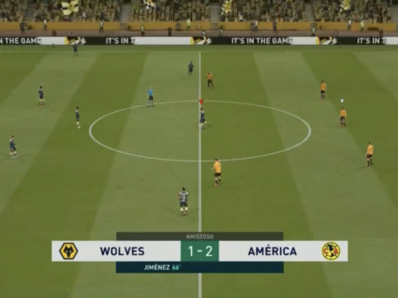 eAmistosos, Wolves vs América, 13.png