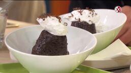 Receta: ¡Pastel de chocolate instantáneo!