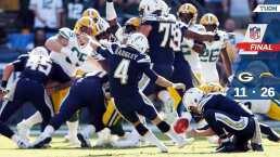 Green Bay Packers 11- 26 Los Angeles Chargers – Resumen – Week 9 – NFL