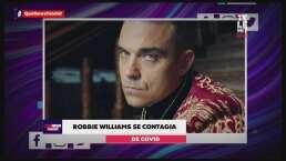 Robbie Williams se contagió de COVID-19 luego de irse de vacaciones