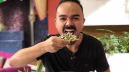 Cocina de hoy: El chef Luis Ramos combina los ingredientes del aguachile de camarón con granada