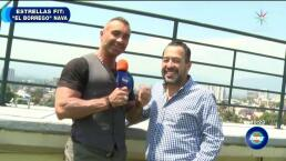 """¡""""El Borrego"""" Nava logró bajar 40 kilos!"""