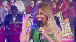 """Raquel Bigorra canta junto a La Sonora Dinamita en el programa """"Hoy"""""""