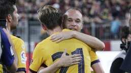 Barcelona derrotó sin problemas al Vissel Kobe de Iniesta