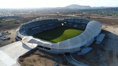 El estadio de Mazatlán está casi listo y ya es un hecho que sólo faltan detalles para alojar a la nueva franquicia de la Primera División del futbol mexicano.