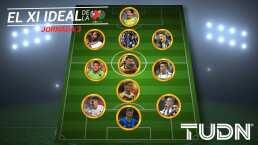 El Once Ideal de la Jornada 3 conformado por elementos de 8 equipos