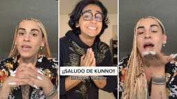Tiktoker que pagó 5 mil pesos por un saludo de Kunno, ya lo recibió, y lo presumió en su red social