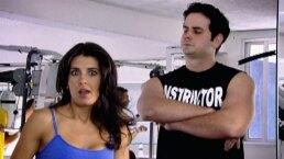 Vecinos: Buscando galán en el gym