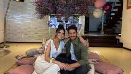Marisol González sorprende a su esposo con romántica cena por su aniversario de bodas
