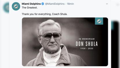 Inesperado fallecimiento de Don Shula conmociona al deporte y así reaccionan en redes sociales.