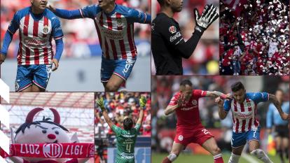 Chivas vence a Toluca con tres goles a uno; Guadalajara se aferra a la Liguilla. Alan Pulido es el máximo anotador mexicano de la Liga MX.