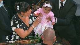 Elena, nieta que no conoció José José, le da el último adiós a su abuelo