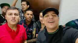 Grupo Firme estrena 'Ábrete' junto a JD Pantoja y celebran su éxito echándose un palomazo