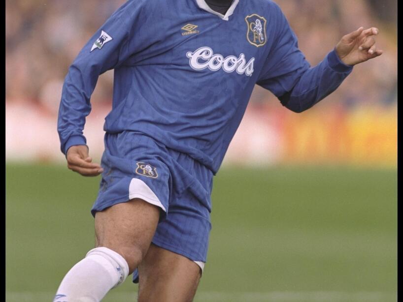 Ruud Gullit of Chelsea