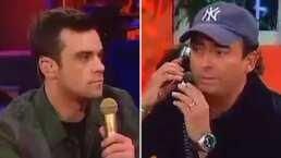 Cuando Adal Ramones puso a Robbie Williams a pedir una orden de tortas 'Lorena Herrera'