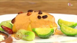 Cocina: Chuleta rellena de chorizo coleto y queso