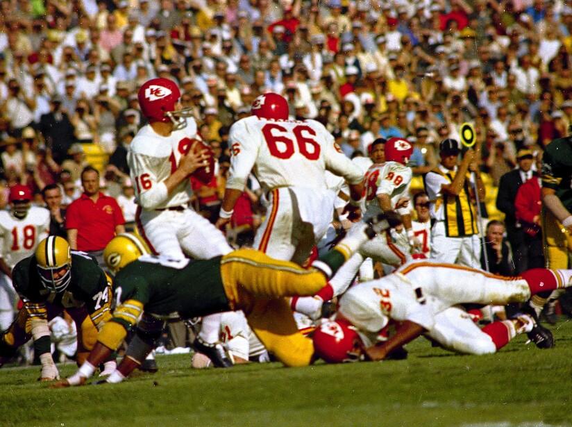 Super Bowl I Green Bay Kansas City 1967