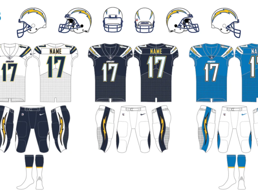 Uniforme Chargers 2013.png