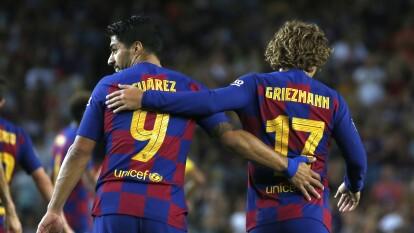 El parón del futbol por la crisis del coronavirus ha puesto en jaque a los equipos de futbol y el Barça estaría dispuesto a vender a todos sus cracks, menos a Messi, Ter Stegen y Frenkie De Jong. ¿Cuá sería el destino de Suárez, Griezmann y compañía?