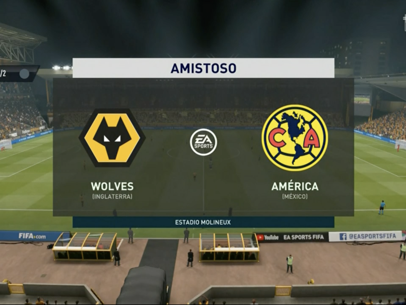 eAmistosos, Wolves vs América, 3.png