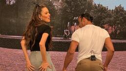 Latin Lover baila a las conductoras de Cuéntamelo ya!