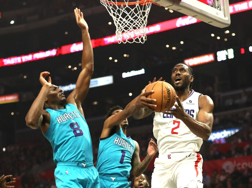 Charlotte Hornets v Los Angeles Clippers
