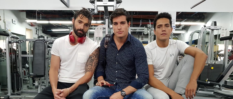 ¡Sebastián, Fernando y Mauricio te conquistarán en Hijas de la luna!