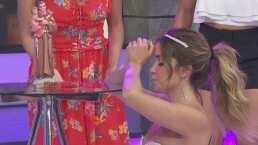 Andrea Escalona se encomienda a San Antonio para encontrar el amor verdadero