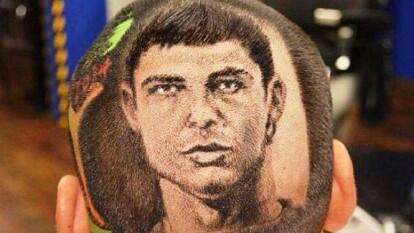 El popular artista del cabello, Rob Ferrel ha plasmado sus creativos cortes inspirado en las estrellas del futbol mundial como Cristiano Ronaldo.