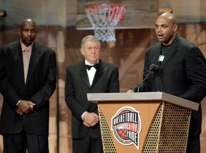 Charles Barkley, Moses Malone, Jerry Colangelo